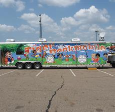 Bookmobile graphics