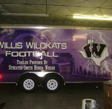 Sports Trailer Decals