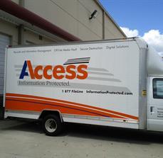 Digital Security Company Truck Graphics