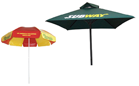 Custom Printed Patio Umbrella