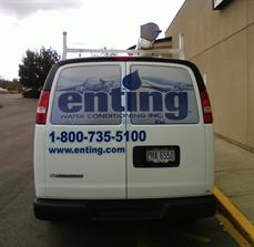 Company Van Window Graphics
