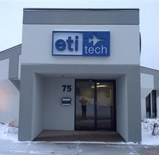Tech Company Building Graphics