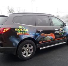 Solar Company Car Graphics