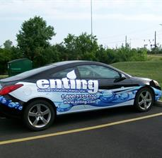 Utility company vehicle wraps