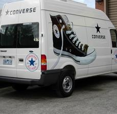 Shoe Store Vehicle Graphics