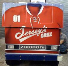 Zamboni decals