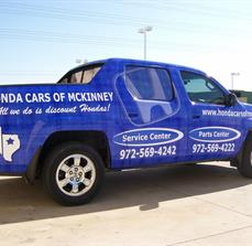 Car Dealership Vinyl Graphics
