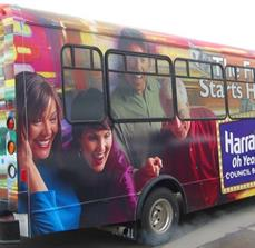 Casino shuttle graphics
