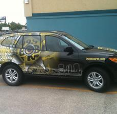 Radio Station Custom Car Graphics