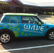 Internet Company Car Graphics