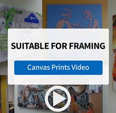 Custom Canvas Prints from FASTSIGNS - Video