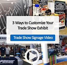 3 Ways to Customize Your Trade Show Exhibit - Video