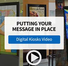 Put Your Dynamic Message in the Right Place with Digital Kiosks from FASTSIGNS - Video