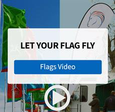 Draw Attention with Custom Flags from FASTSIGNS - Video