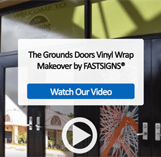 The Grounds Doors Vinyl Wrap Makeover by FASTSIGNS® - Video
