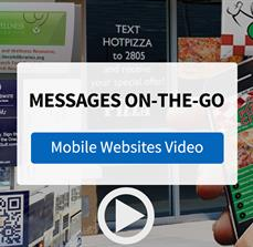 Extend Your Message with Mobile Websites from FASTSIGNS - Video