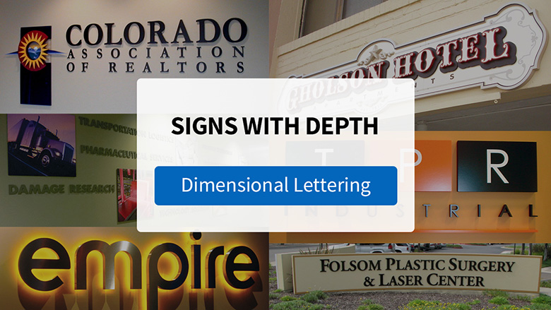 Make An Impression with Dimensional Letters from FASTSIGNS - Video