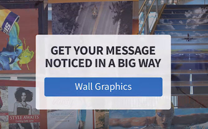 Extend Your Brand and Decor with Wall Graphics from FASTSIGNS - Video