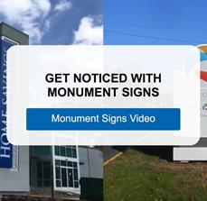 Get Noticed with Monument Signs