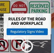 Stay Informed and Safe with Regulatory Signs FASTSIGNS - Video