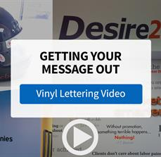 Professional Vinyl Lettering from FASTSIGNS - Video