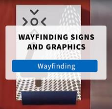 Wayfinding Signs and Graphics