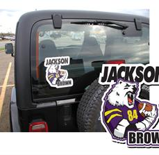 Custom football car graphics