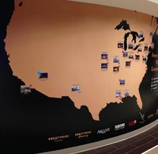 Custom Wall Map Graphics