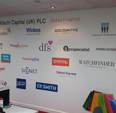 Sponsor Wall Graphics