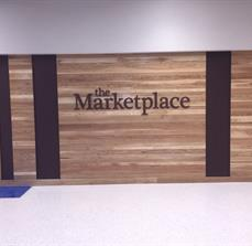 Marketplace wall graphics