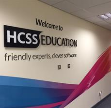 Education wall graphics