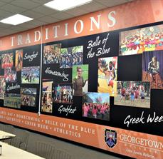 Georgetown College Traditions Wall Graphics