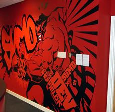 Gaming wall decals