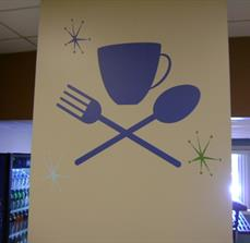 Cafeteria Wall Graphics