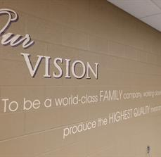 Custom Wall Lettering and Graphics