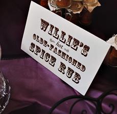 Wedding Food Signs