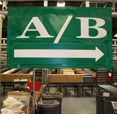 Warehouse Distribution Directional Signs