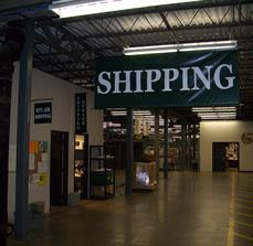 Warehouse Shipping Banners