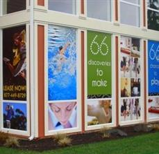 Apartment Complex Window Graphics