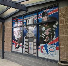 Stadium Window Graphics