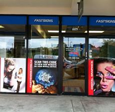 Custom Business Window Graphics