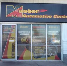 Automotive Center Window Graphics
