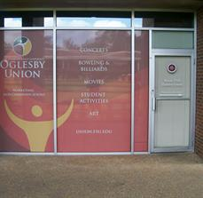 Student Area Window Graphics