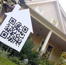 Real Estate QR Code Yard Signs